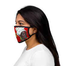 Load image into Gallery viewer, Red and White Sisterhood  Mixed-Fabric Face Mask