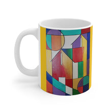 Load image into Gallery viewer, Abstract House Mug