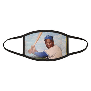 Jackie Robinson #42  Mixed-Fabric Face Mask