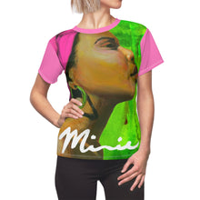 Load image into Gallery viewer, Pink and Green Women's AOP Cut & Sew Tee