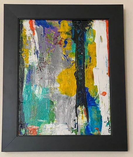Abstract Hues Original Art