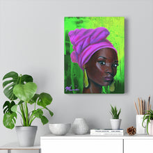 Load image into Gallery viewer, Pink and green art, aka art, aka sorority art