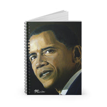 Load image into Gallery viewer, Obama Mr. Presiden Notebook