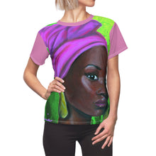 Load image into Gallery viewer, Pink and Green 2 Women's AOP Cut & Sew Tee