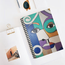 Load image into Gallery viewer, Lady Blu Notebook