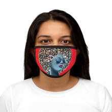Load image into Gallery viewer, Cute as a Button  Mixed-Fabric Face Mask