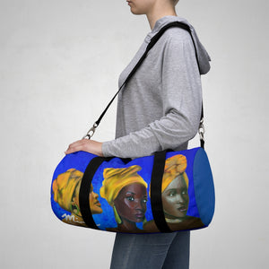 Blue and Gold Sisterhood Duffel Bag