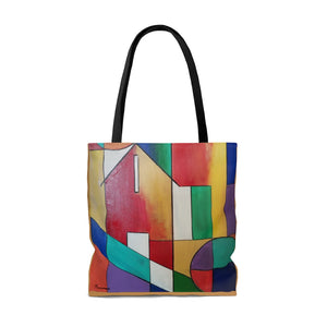 Abstract House Tote Bag