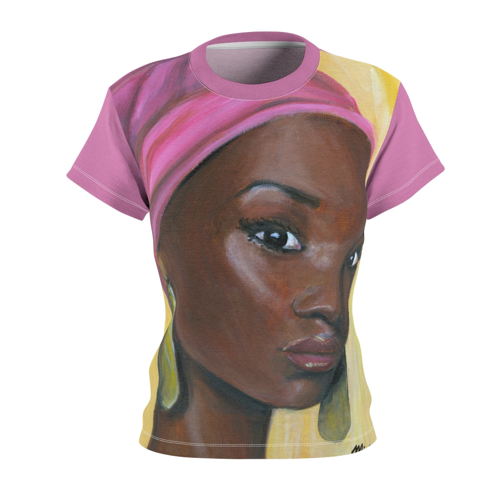 Pink Beauty Women's AOP Cut & Sew Tee