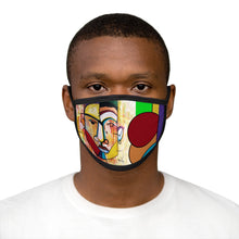 Load image into Gallery viewer, He's the Man Face Mixed-Fabric Face Mask