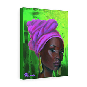 Pink and Green 2 Canvas