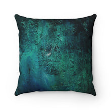 Load image into Gallery viewer, Blue Mountain  Streams Spun Polyester Square Pillow