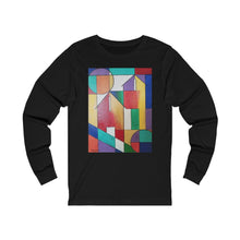 Load image into Gallery viewer, White Pinkett Fence Unisex Jersey Long Sleeve Tee