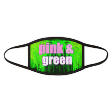 Load image into Gallery viewer, Pink and Green Abstract Face Mask