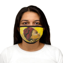 Load image into Gallery viewer, Red Beauty Mixed-Fabric Face Mask
