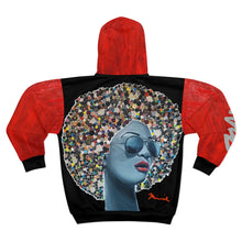 Load image into Gallery viewer, Cute as a Button Unisex Zip Hoodie