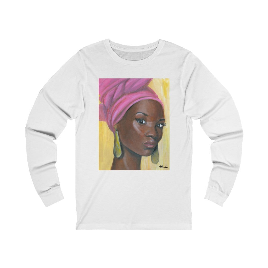 Pink Beauty  Unisex Jersey Long Sleeve Tee