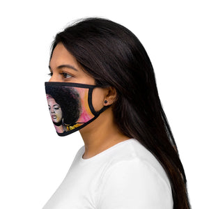Jilly from Philly Mixed-Fabric Face Mask