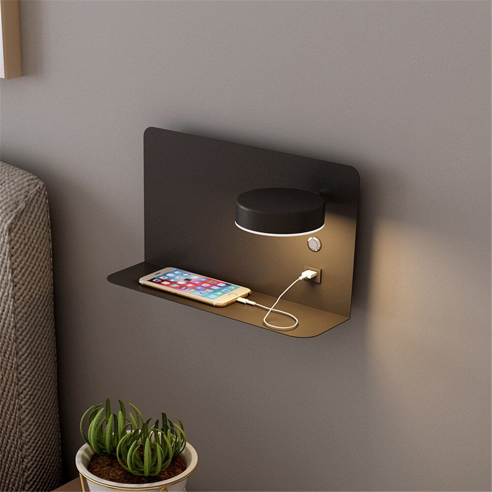 Half Shelf USB - IP65 Wall Light - LightStyl