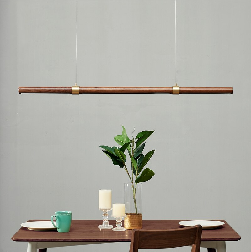 Walnut LED - Pendant Bar Light - LightStyl