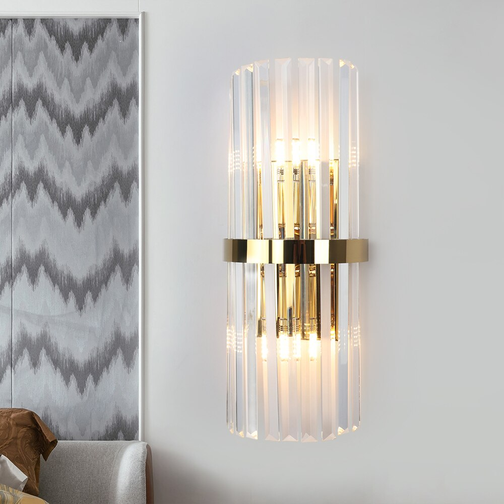 Crystal LED Sconce, by Gabriel Design - LightStyl