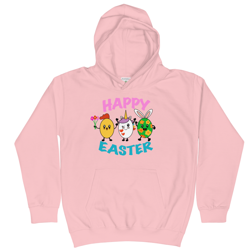 Happy Easter Cotton Hoodie