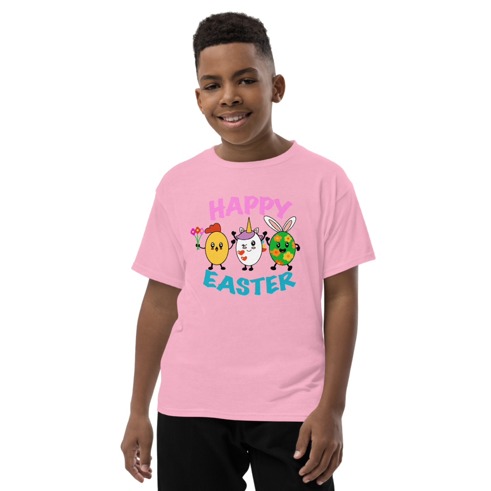 Happy Easter short sleeve t-shirt