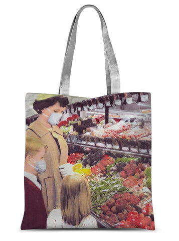 'exotic food shortage' Sublimation Tote Bag