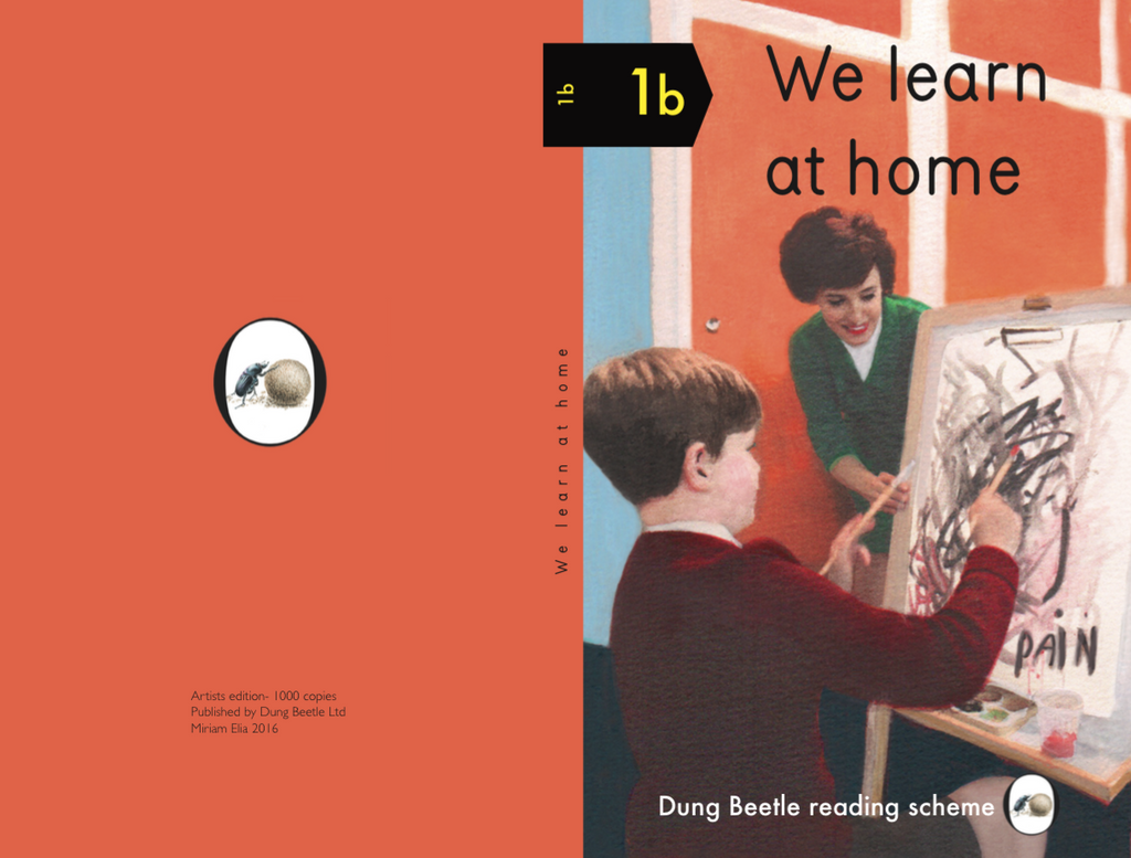 We learn at home- Limited Artists edition, book 1b