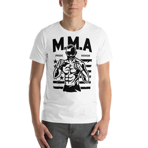 M.M.A Pride Honor Front Short-Sleeve Unisex T-Shirt