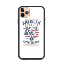 Load image into Gallery viewer, American Fighter Biodegradable iPhone case
