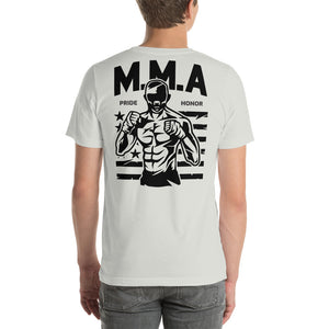 M.M.A Pride Honor Back Short-Sleeve Unisex T-Shirt
