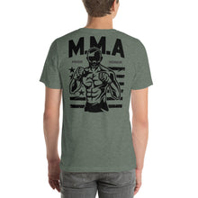 Load image into Gallery viewer, M.M.A Pride Honor Back Short-Sleeve Unisex T-Shirt