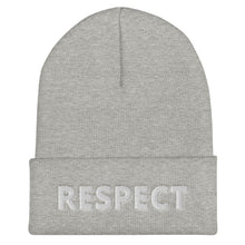 Load image into Gallery viewer, Respect Cuffed Beanie