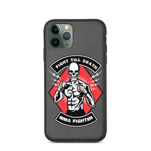 Load image into Gallery viewer, Fight Till Death Biodegradable iPhone case