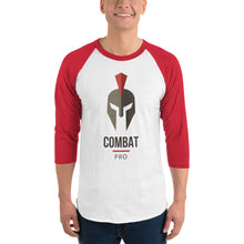 Load image into Gallery viewer, Combat Pro 3/4 sleeve raglan shirt