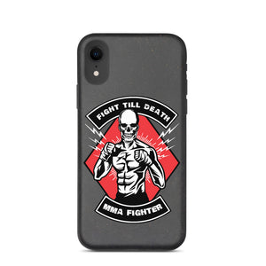 Fight Till Death Biodegradable iPhone case
