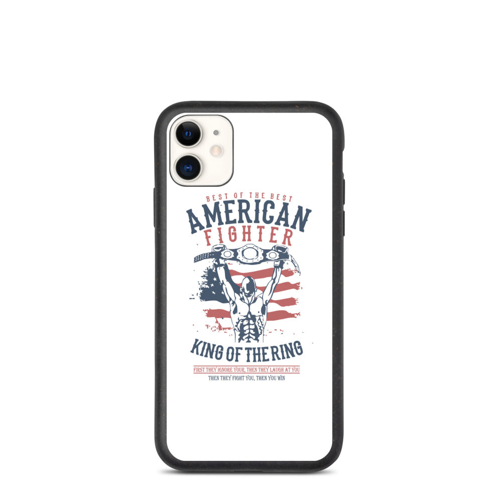 American Fighter Biodegradable iPhone case