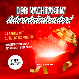 NACHTAKTIV ADVENTS-KALENDER BOX! (streng limitiert)