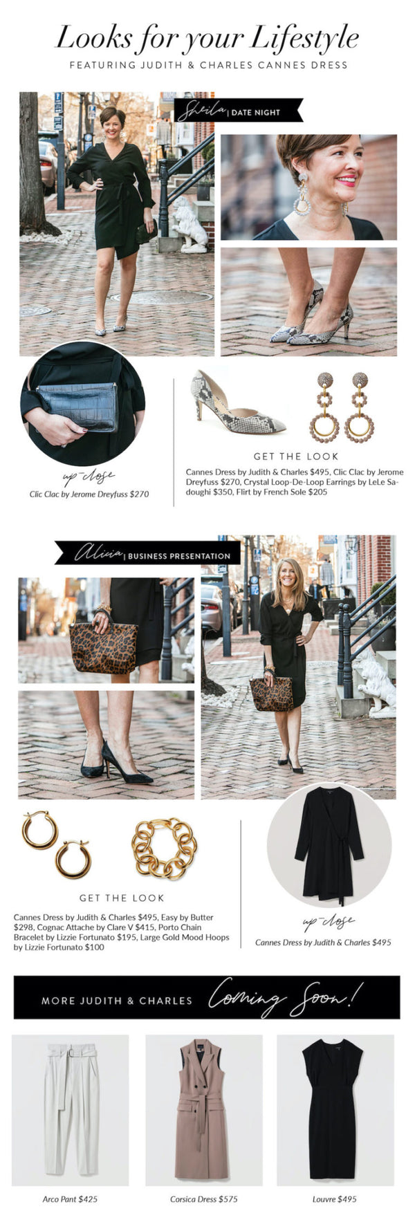 Looks for Your Lifestyle: The Wrap Dress