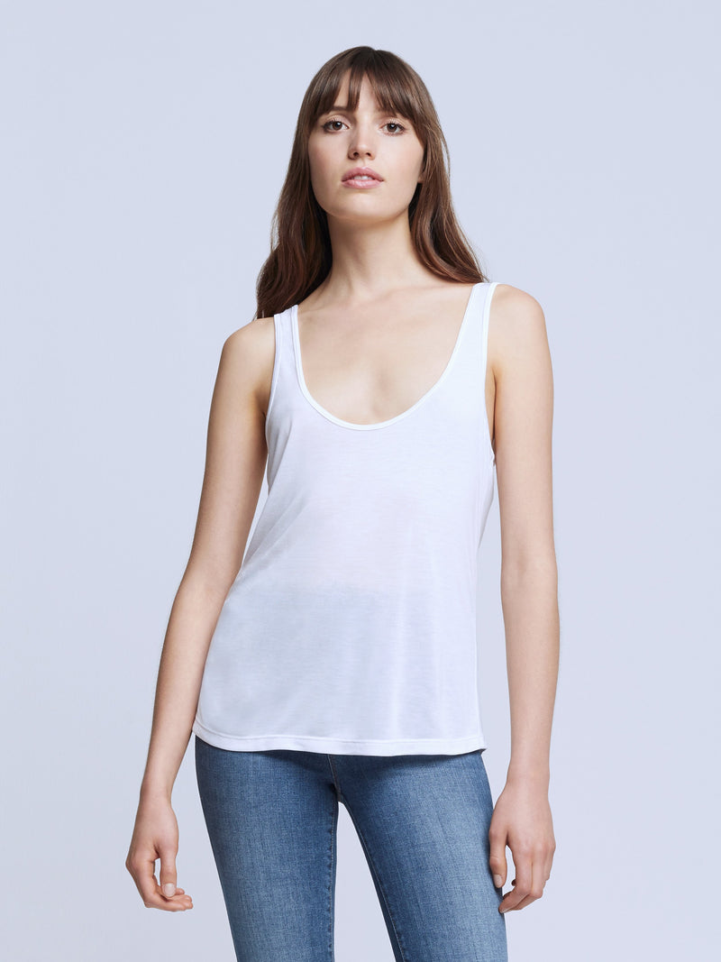 Perfect Tank in White by L'Agence