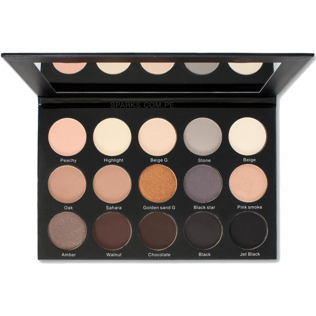 Sombras Smoky Sand Eyeshadow Palette Kara Beauty 3 PZS Por Mayor (ES23)