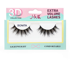 Pestaña 3D Extra Volume Lashes JLash Bonita 6 PZS Por Mayor (3D24)
