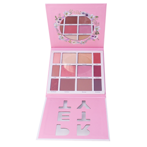 Paleta Todo En Uno Pretty Palette City Color 6 PZS Por Mayor (F-0103)