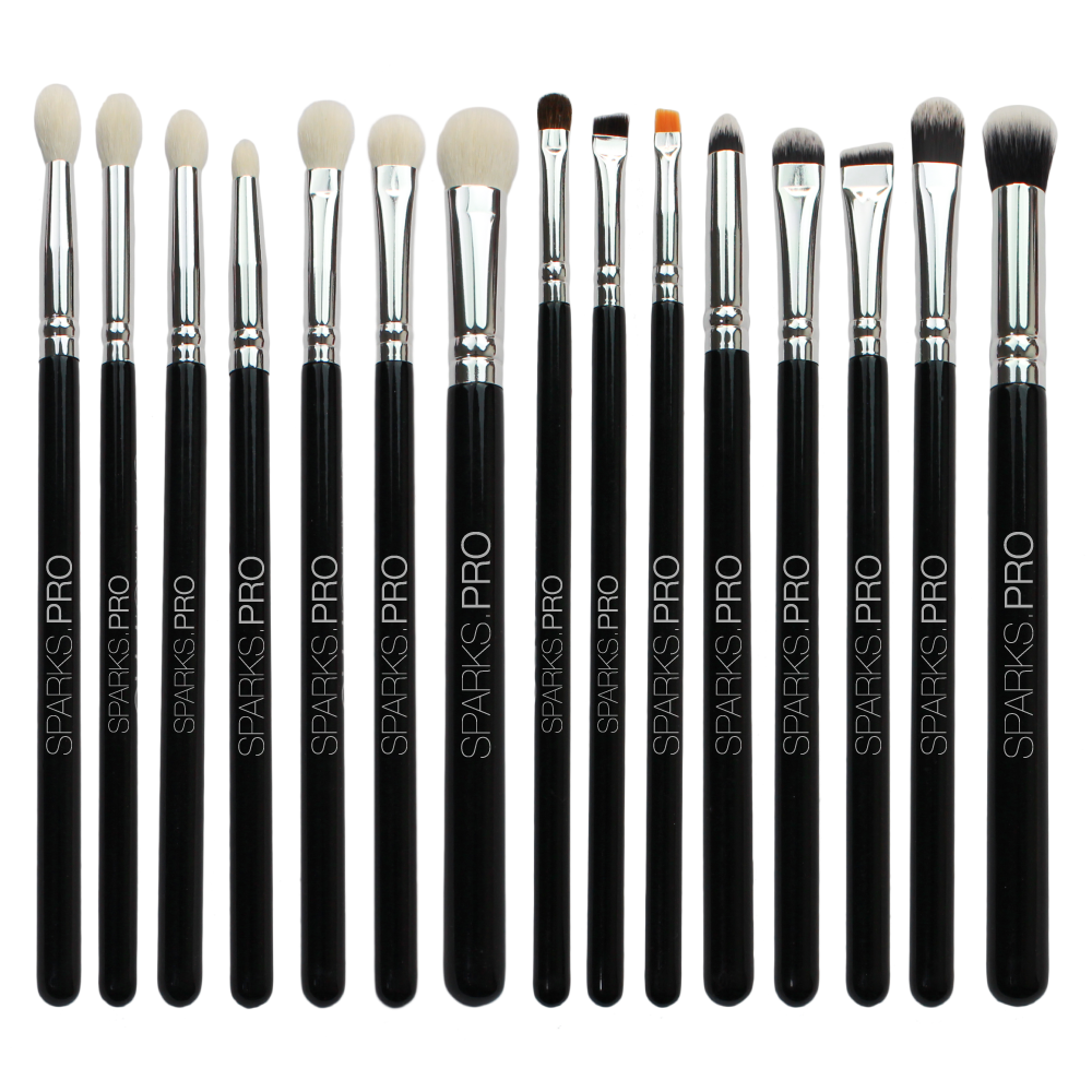 Set De Brochas Master Series Eye Set Sparks Pro 3 PZS Por Mayor (SP-B0005E)