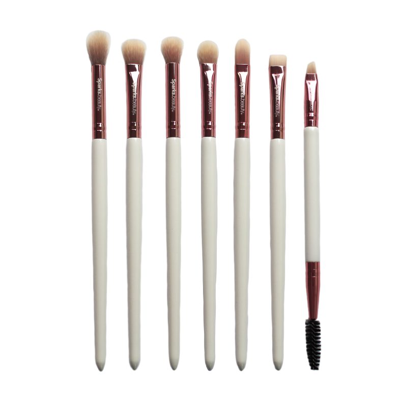 Set De Brochas White Deluxe Vol. 2 Eyes Sparks Beauty 3 PZS Por Mayor (SB-B0005E)