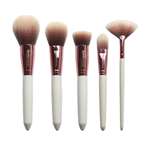 Set De Brochas White Deluxe Vol. 2 Face Sparks Beauty 3 PZS Por Mayor (SB-B0005F)