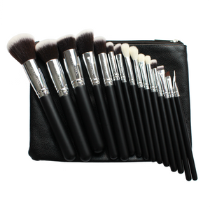Set De 15 Brochas Luxury Kabuki Sparks Pro 3 PZS Por Mayor (SP-B0004)
