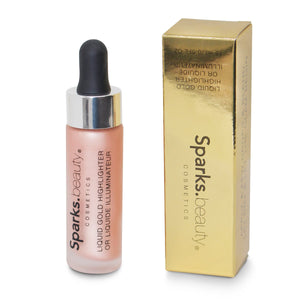 Iluminador Líquido Liquid Gold Sparks Beauty 6 PZS Venta Por Mayor