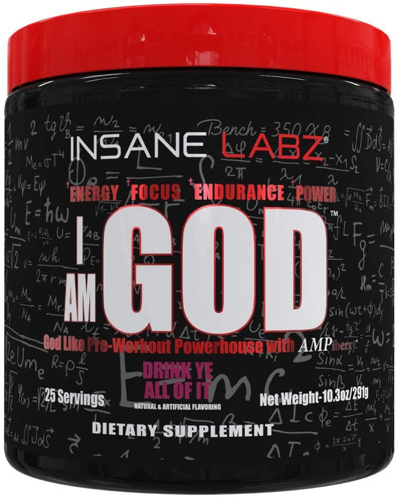 "Insane Labz ""I Am God"""